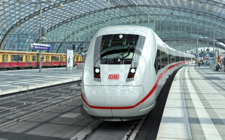 Braking and entrance systems for new ICE trains
