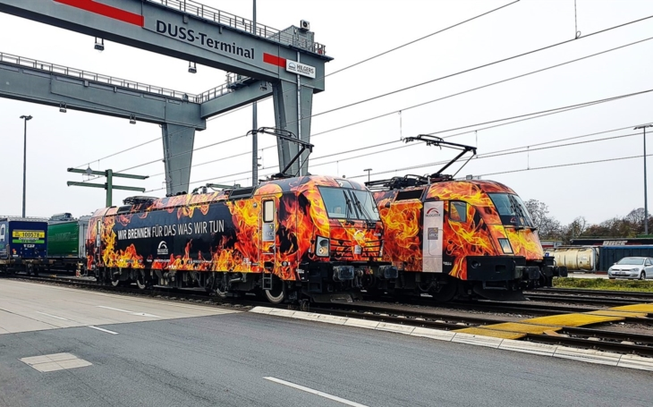 TX Logistik has increased the number of trains between Duisburg and Milan