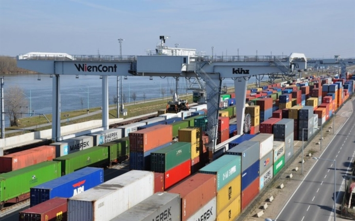 Hupac co-owned the WienCont multimodal terminal