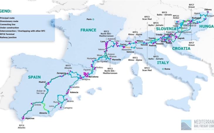 Spain starts reconstruction of the Mediterranean trans-European corridor
