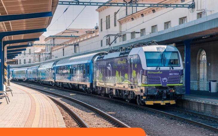 Európsky vlak dorazil do Bratislavy