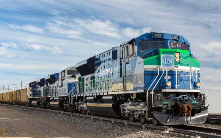 Progress Rail will develop a hydrogen fuel locomotive