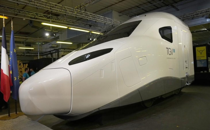 A new generation of high-speed trains presented in France