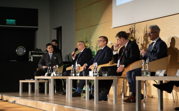 The Minister of Infrastructure of Poland has officially opened the fair TRAKO 2021