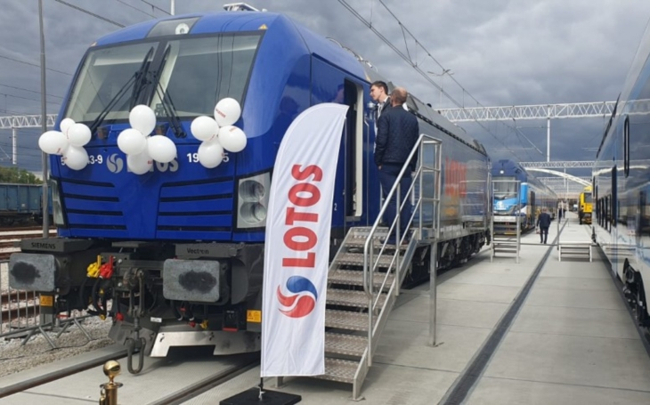 The most modern locomotive in Europe has arrived in Gdansk