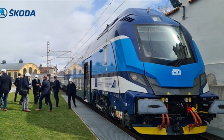 Škoda has signed a contract for the maintenance of electric trains in the Czech Republic