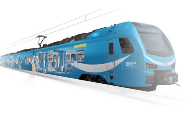 Transmashholding is building a train depot for the German operator Go-Ahead Bayern