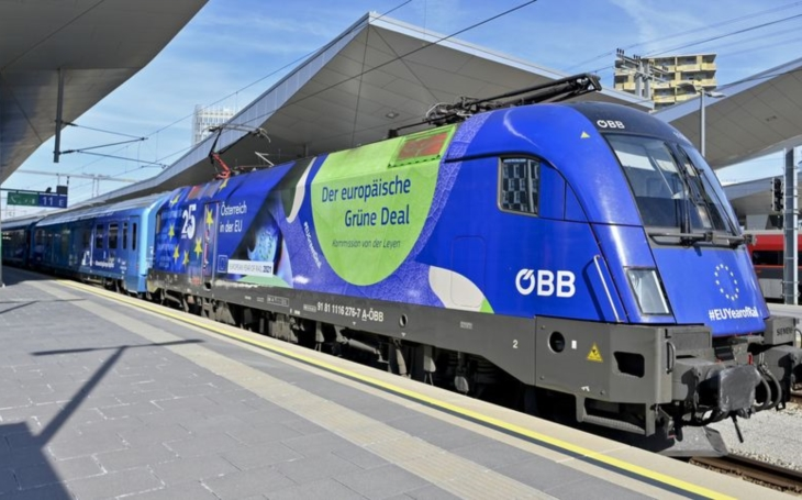 """""""Connecting Europe Express"""" recently visited Basel"""