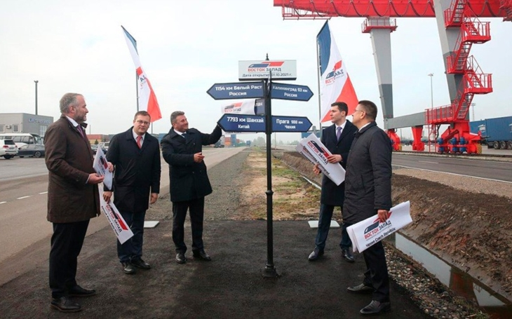 RZD position on the Railway Silk Road. A new East-West terminal has been opened in Kaliningrad