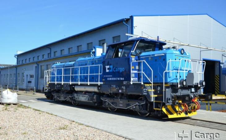 ČD Cargo převzalo 30. modernizovanou lokomotivu řady 742.71 od CZ LOKO