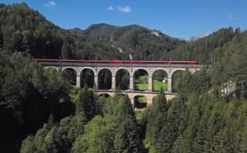 The most beautiful railroads in the word: Semmering