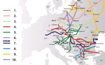 Budapest-Warsaw high-speed rail line at 320 km/h will turn into Vienna…